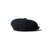 May club -【Addict Clothes】ACV-HG01L DEER SUEDE 8 PIECE CASQUETTE - DARK BLUE