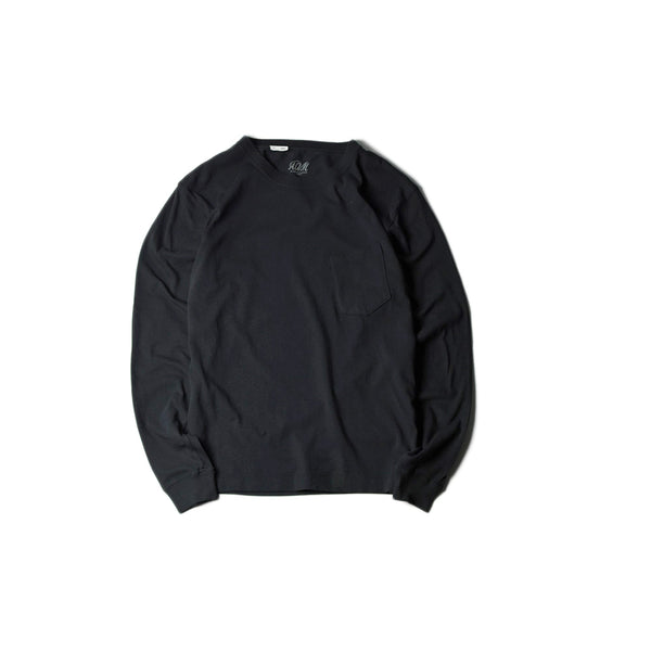 May club -【Addict Clothes】ACVM LONG SLEEVE TEE - BLACK