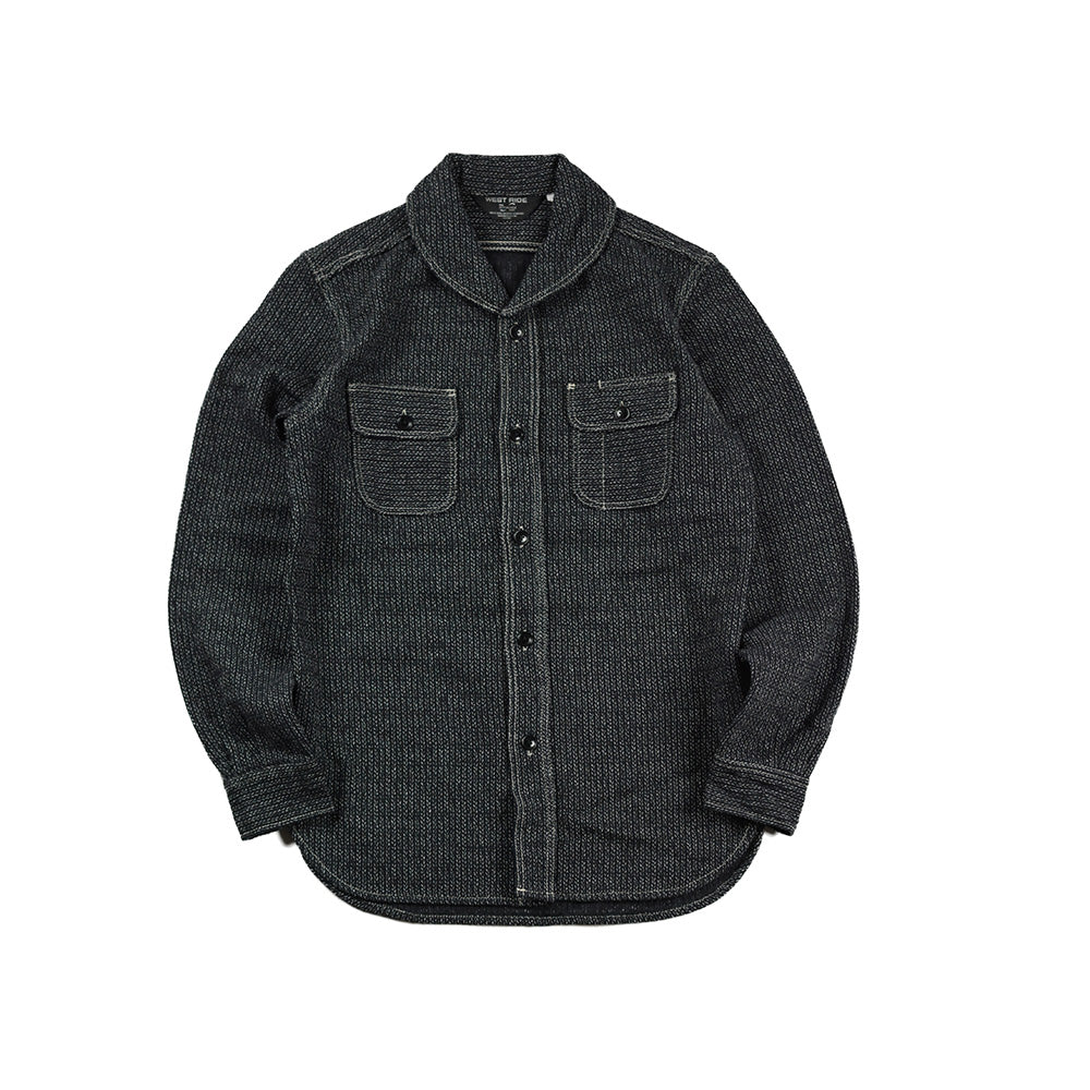 May club -【WESTRIDE】JACK SHIRTS - BLK BEACH