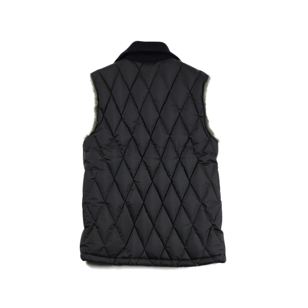 May club -【WESTRIDE】ALL NEW RACING DOWN VEST - BLK/RED ST