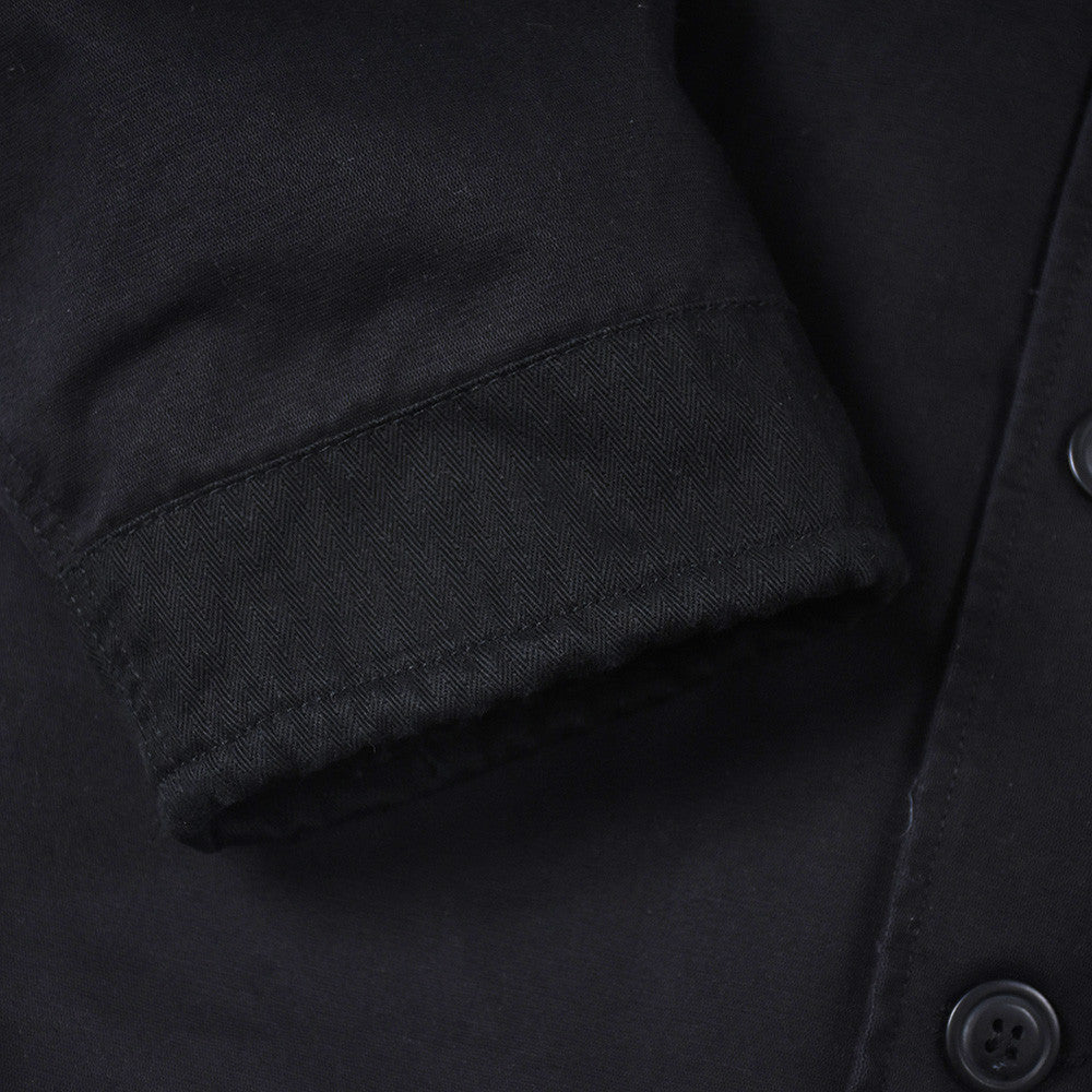 May club -【THE HIGHEST END】FRENCH N-1 DECK JACKET - BLACK