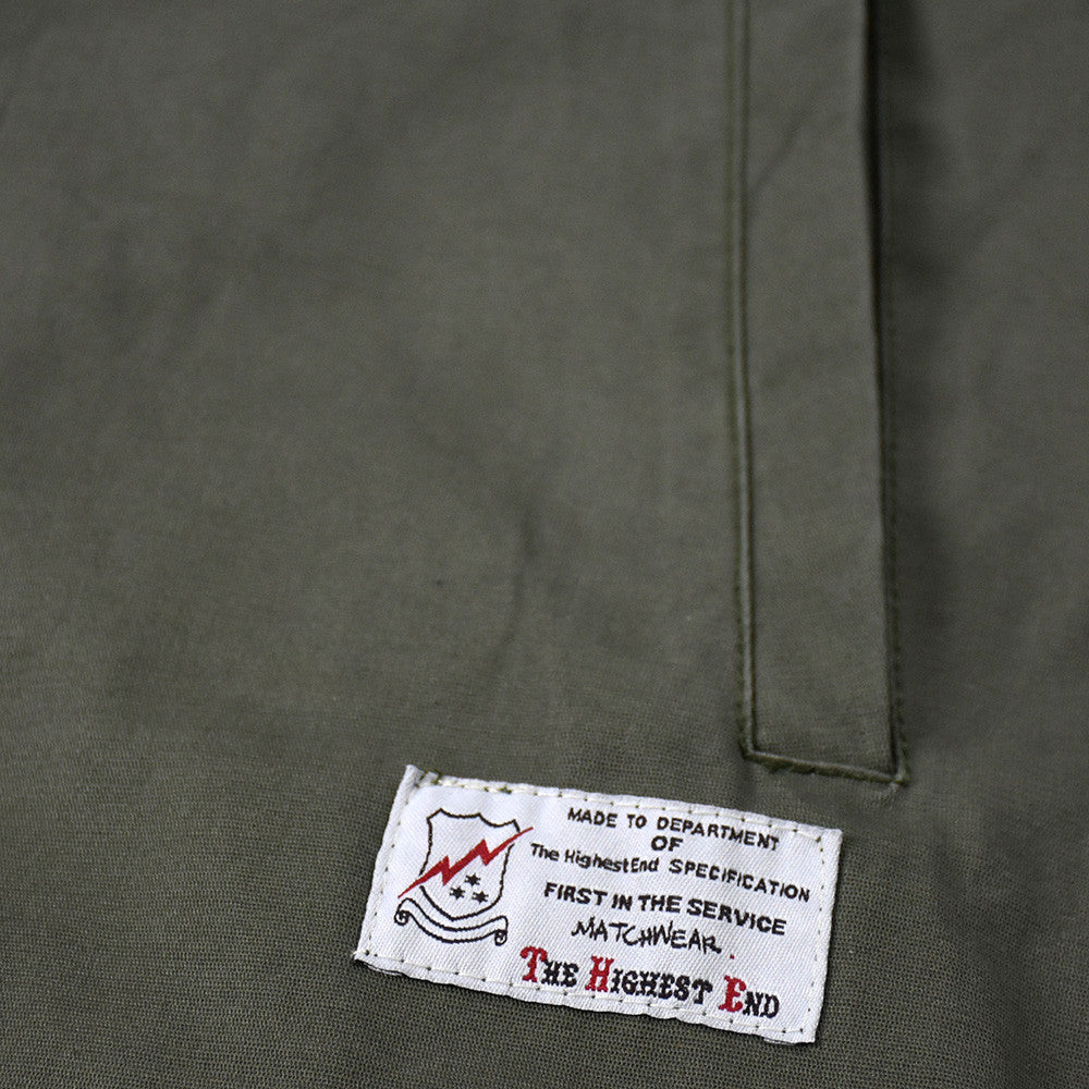 May club -【THE HIGHEST END】FRENCH N-1 DECK JACKET - KHAKI