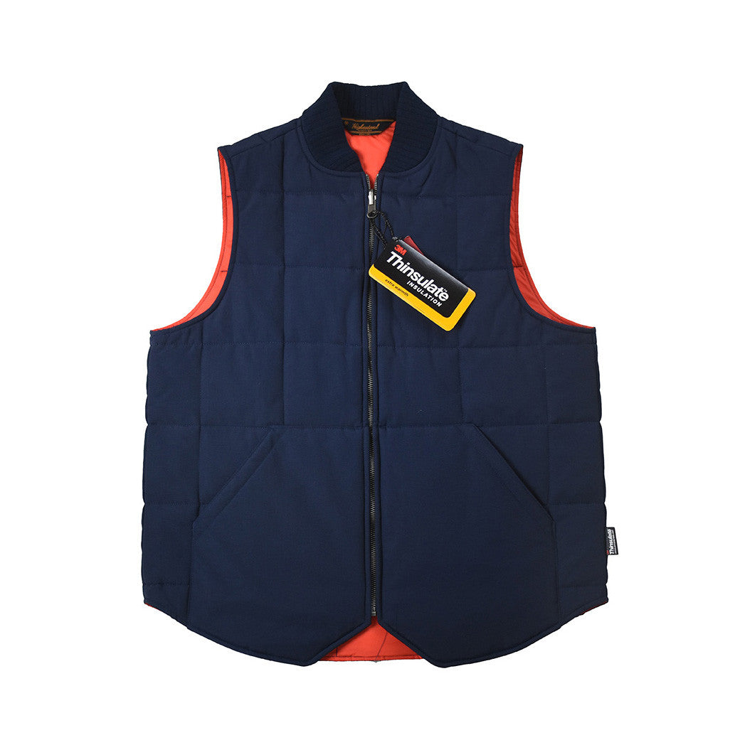 May club -【THE HIGHEST END】THINSULATE VEST - NAVY