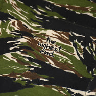 May club -【THE HIGHEST END】THINSULATE VEST - TIGER CAMO