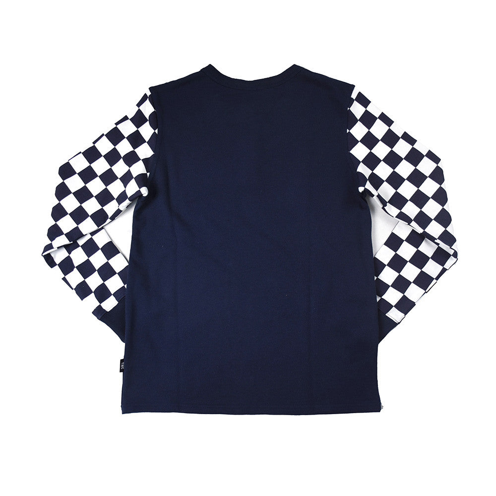 May club -【THE HIGHEST END】CHECKERED HENRY - NAVY