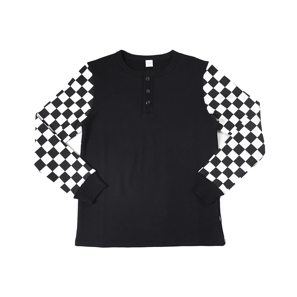 May club -【THE HIGHEST END】CHECKERED HENRY - BLACK