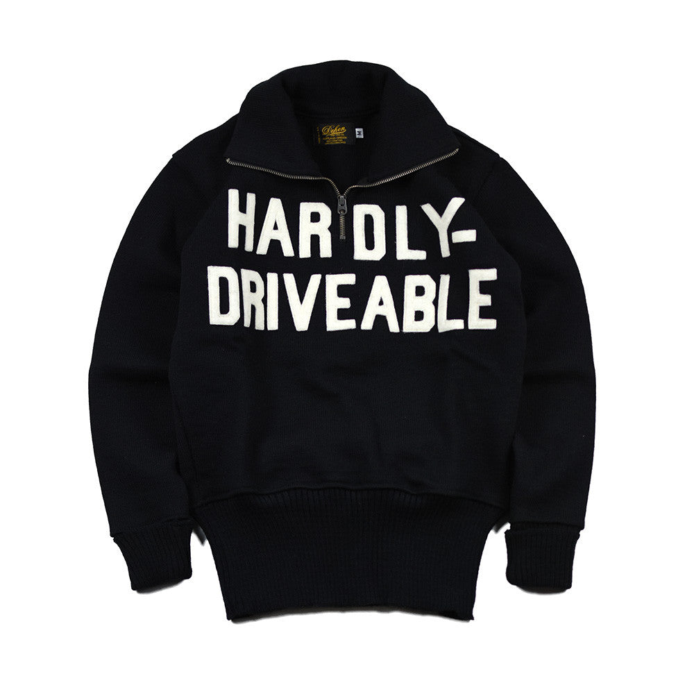 May club -【HARDLY-DRIVEABLE】MOTORCYCLE SWEATER (DEHEN)