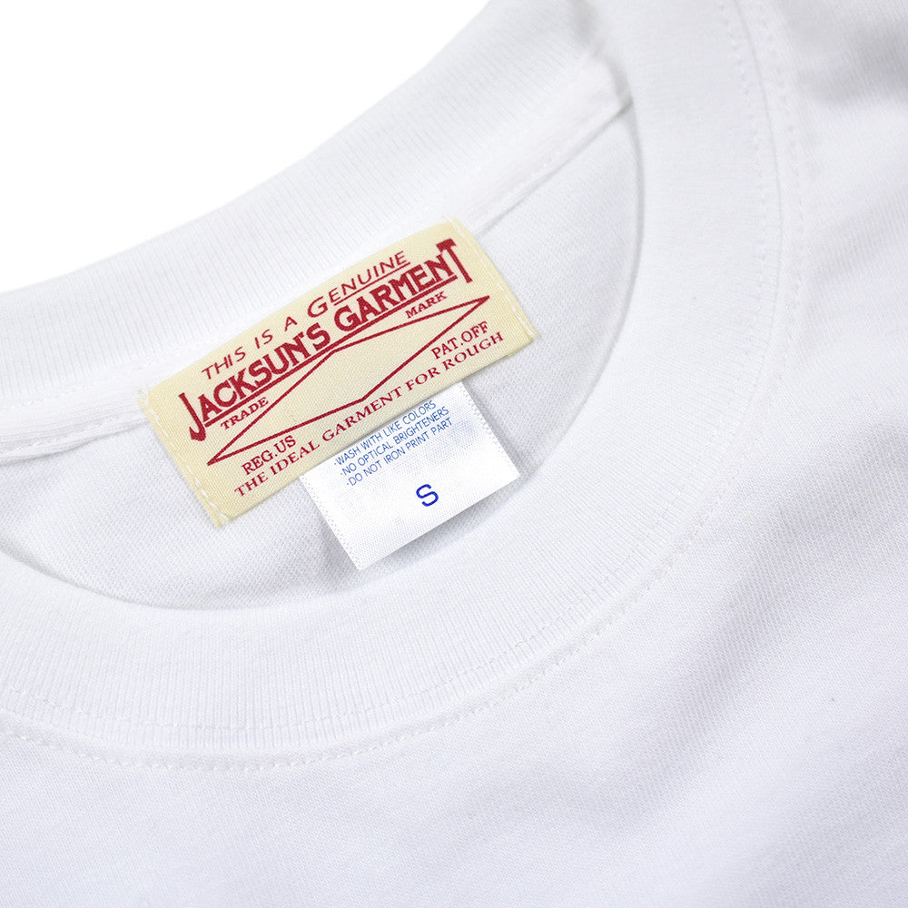 May club -【JACKSUN'S】C.T.M x JACKSUN'S 30th Anniversary Tee - White