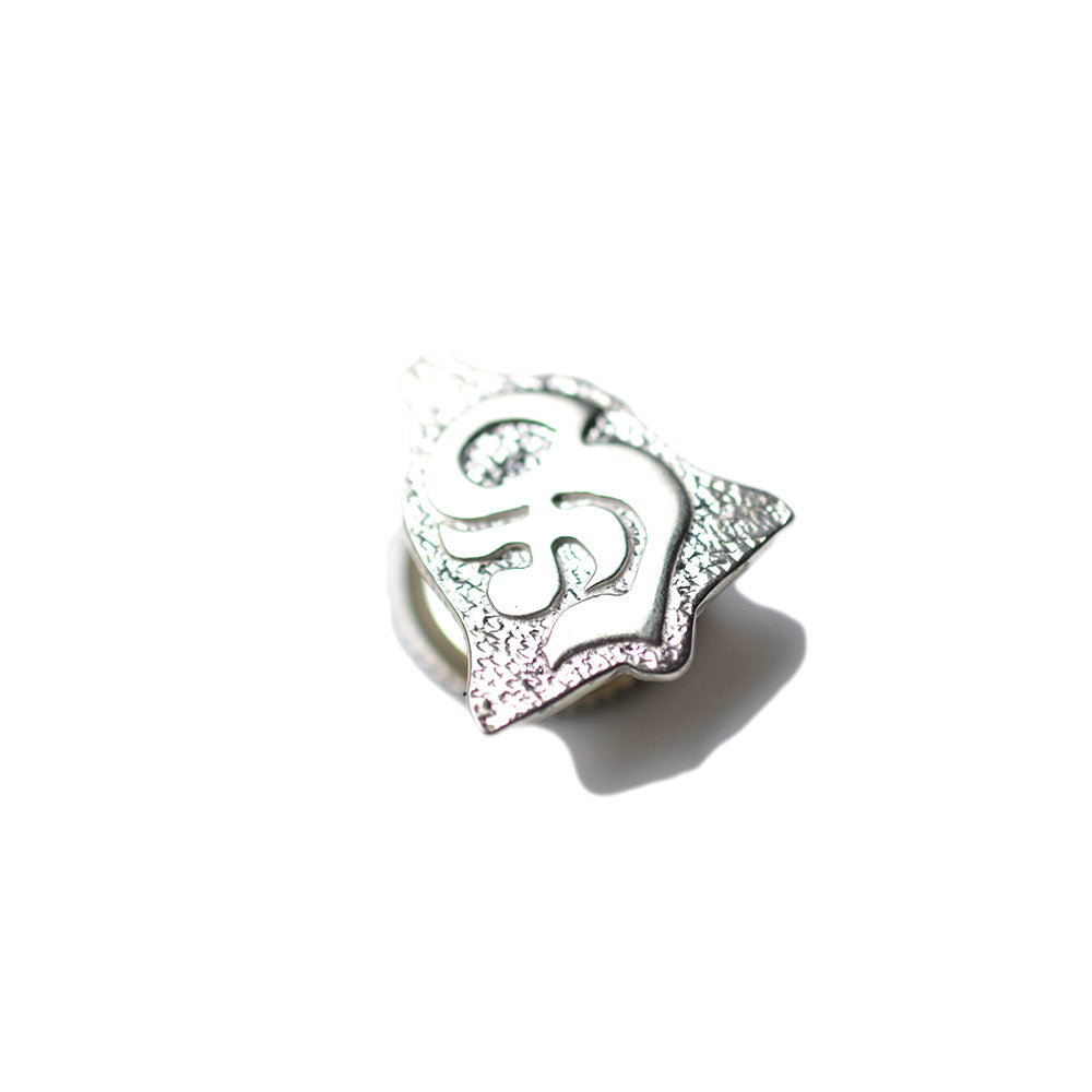 May club -【SHAFT SILVER WORKS】BELL LOGO PINS