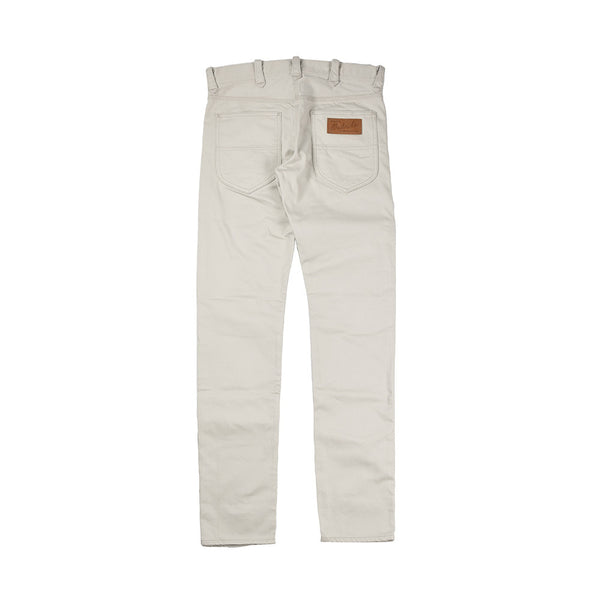 May club -【WESTRIDE】WR105 SKINNY PANTS SATIN - IVORY