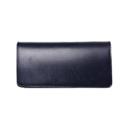May club -【Addict Clothes】AD-W-01S UK BRIDLE LEATHER LONG WALLET - DARK BLUE