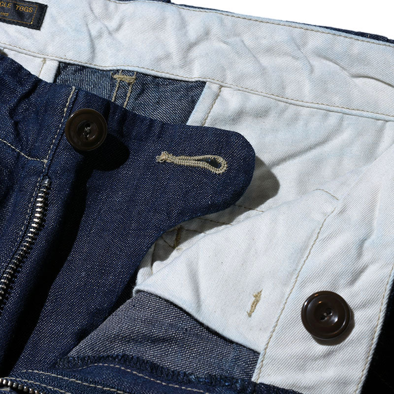 May club -【WESTRIDE】THICK RIDE SLIM CHINO - DENIM