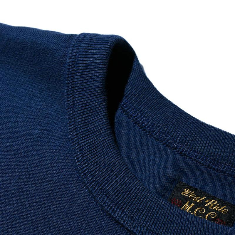 "May club -【WESTRIDE】""GOOD TIMES ROLL"" TEE - FADE NAVY"