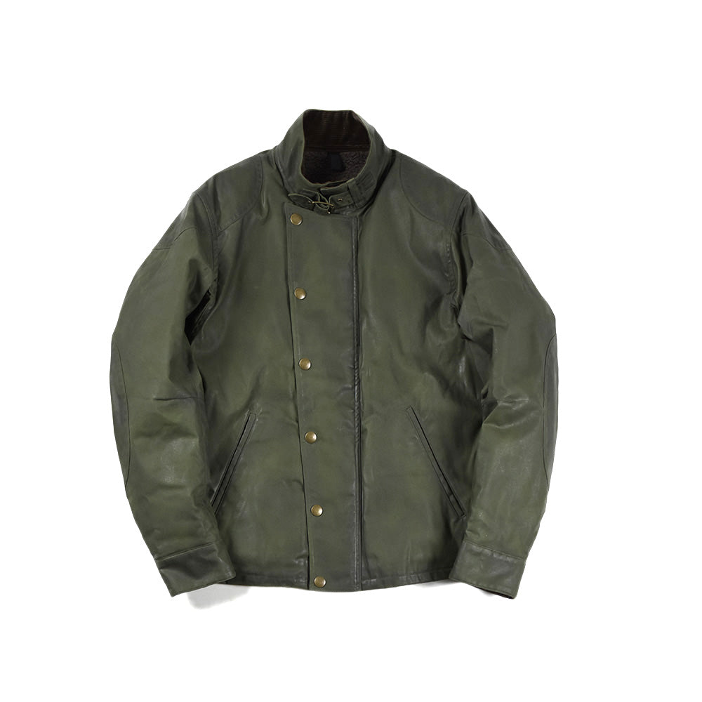 May club -【Addict Clothes】AD-WX-05 OILED ULSTER JACKET - KHAKI GREEN