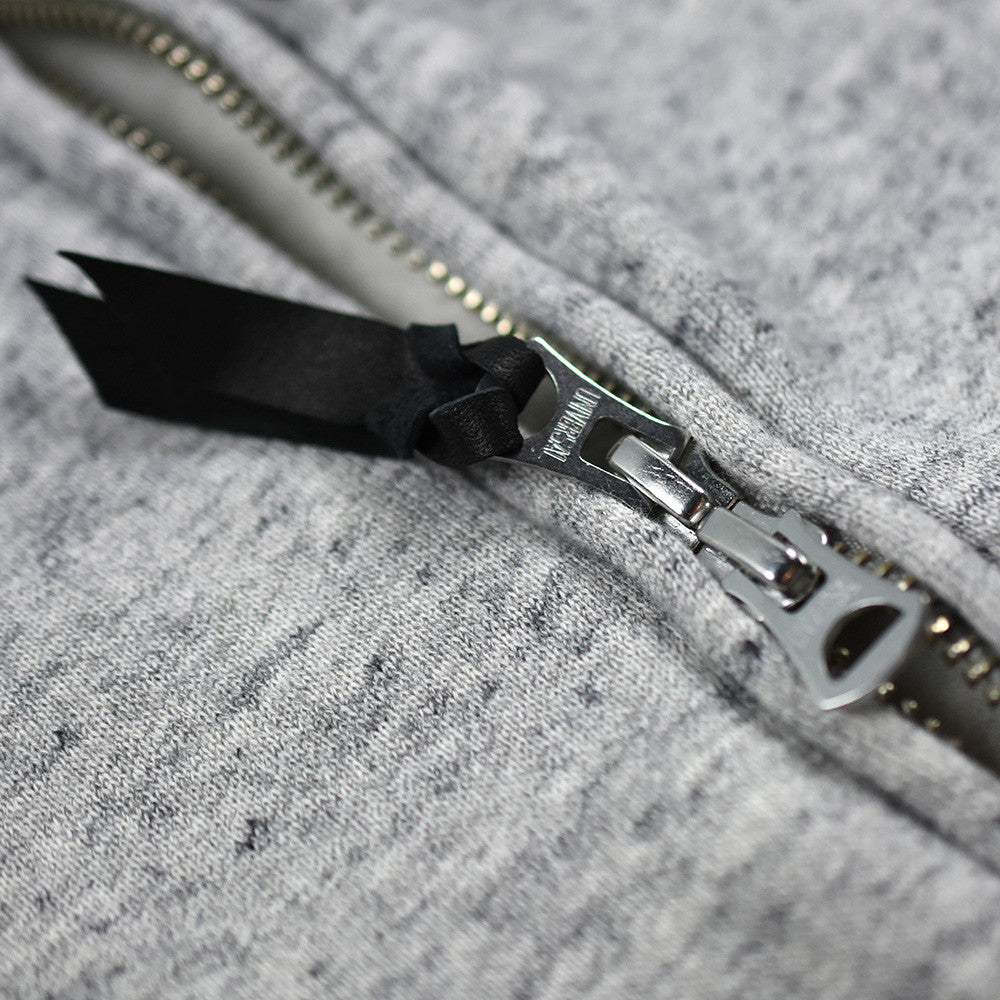 May club -【WESTRIDE】CLOUD FULL ZIP HOODIE - GRAY