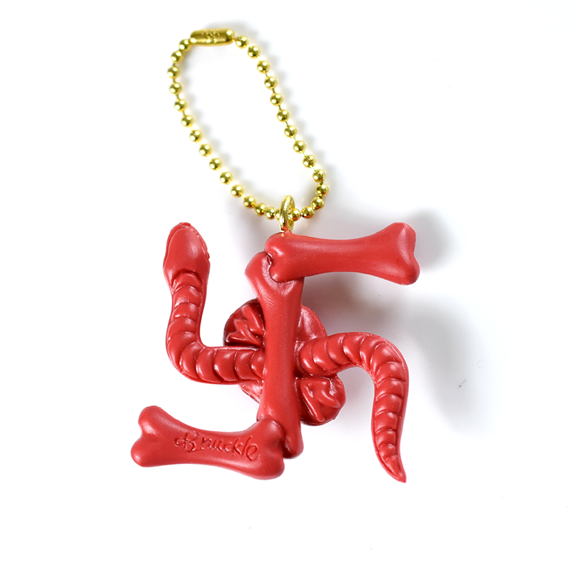 May club -【WESTRIDE】SWASTIKA KEYCHAIN