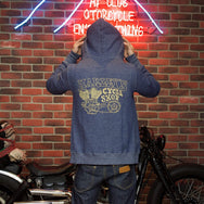May club -【WESTRIDE】CLOUD FULL ZIP HOODIE - NAVY