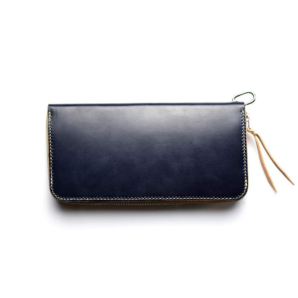May club -【THE HIGHEST END】STANDARD WALLET - NAVY