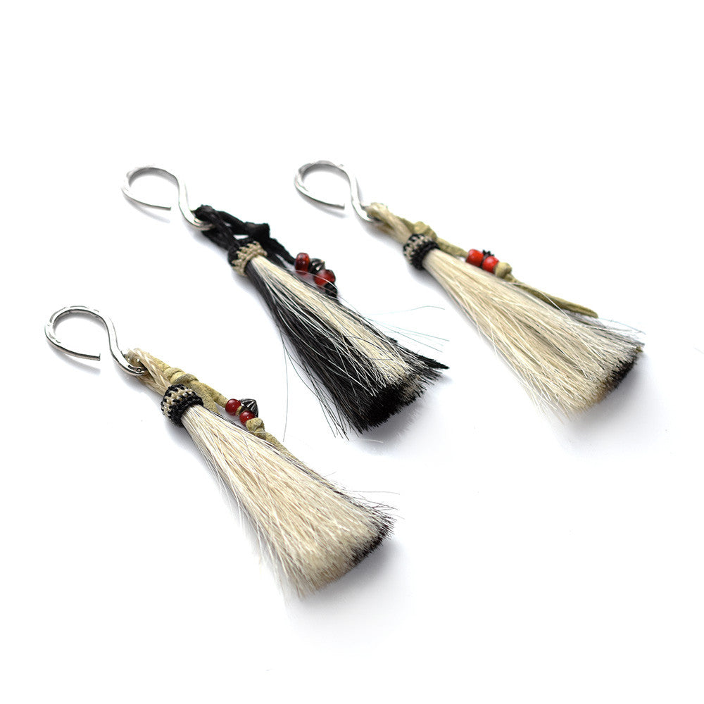 May club -【THE HIGHEST END】HORSE HAIR KEY HOLDER