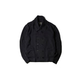 May club -【Addict Clothes】SHAWL COLLAR DOUBLE BREASTED COTTON KNIT