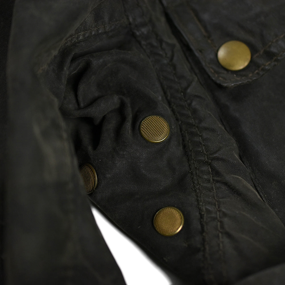 May club -【Vintage】60's BELSTAFF TRIALMASTER SAMMY MILLER WAXED MOTORCYCLE JACKET