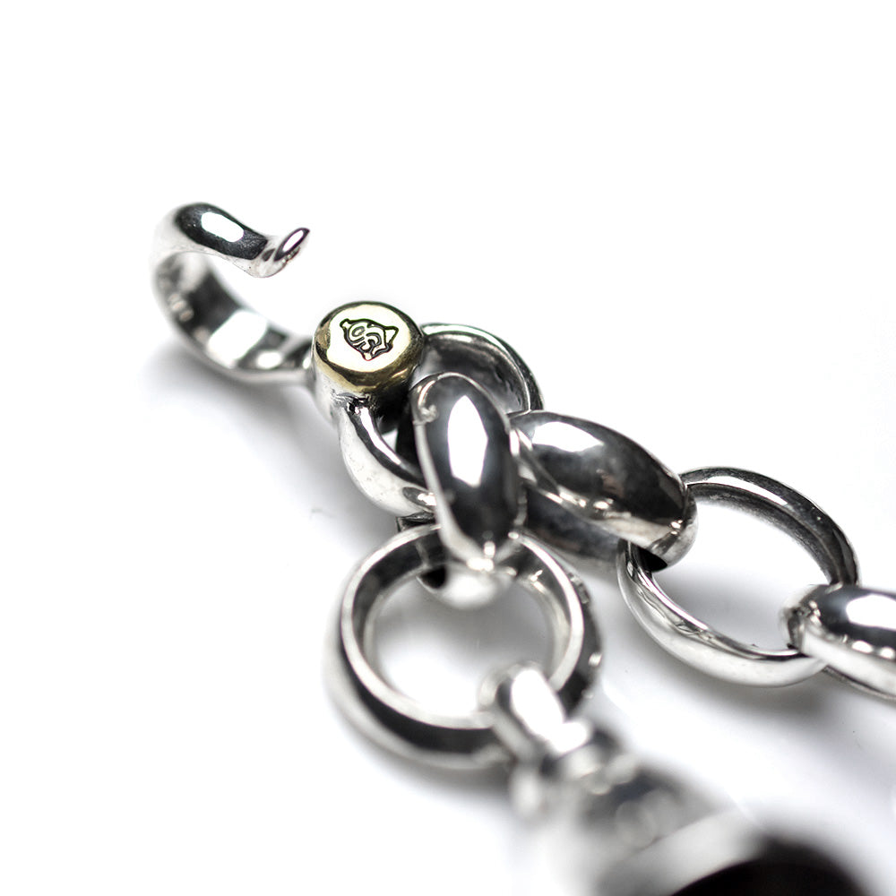 May club -【SHAFT SILVER WORKS】SWC-009(L) WALLET CHAIN