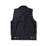May club -【WESTRIDE】SWASTIKA DENIM VEST