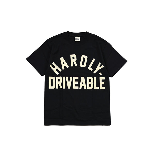 May club -【HARDLY-DRIVEABLE】Logo Short Sleeve T-Shirt (Arch-Type)