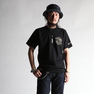 "May club -【WESTRIDE】""BIG CHIEF CAFE"" TEE - BLACK"