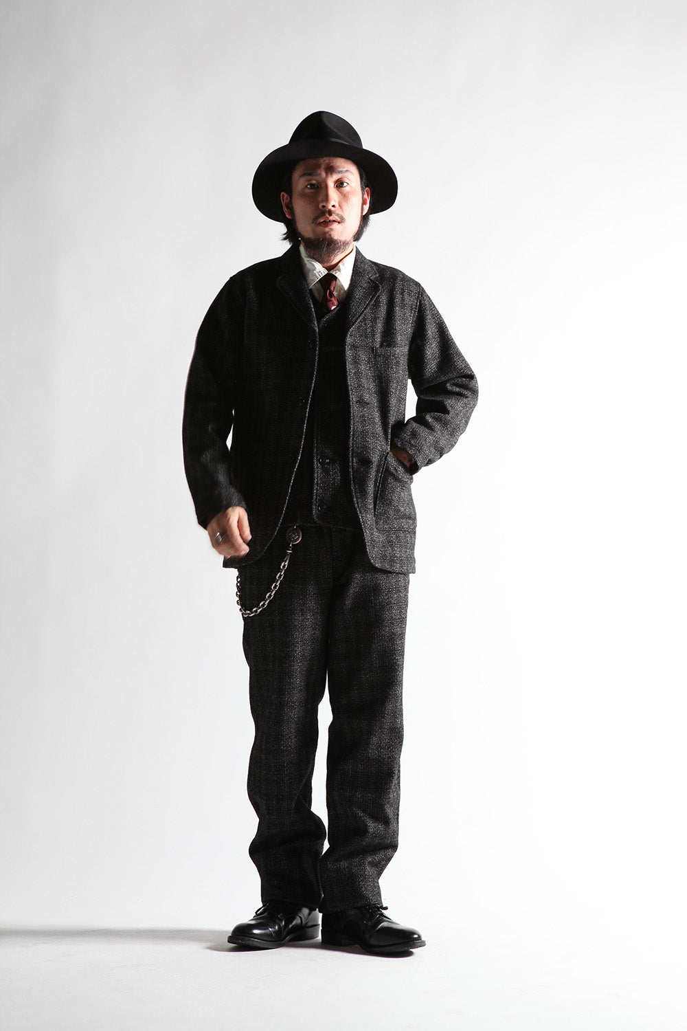 May club -【WESTRIDE】HARVEST TWEED PANTS