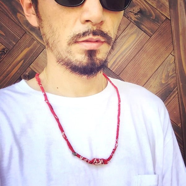 May club -【THE HIGHEST END】BANDANA NECKLACE
