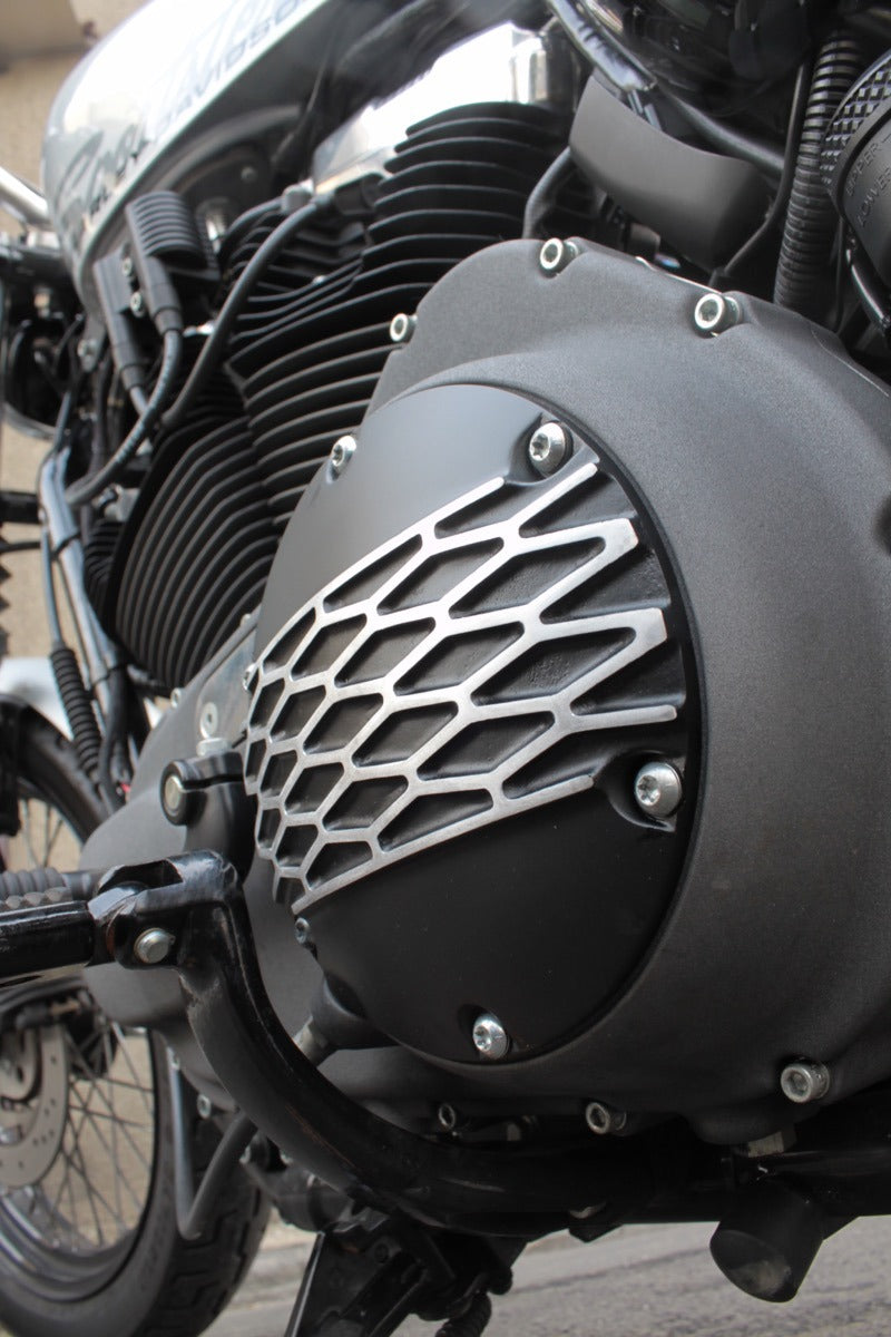May club -【Fork】1173 Derby Cover for Sportster - DIA BLACK