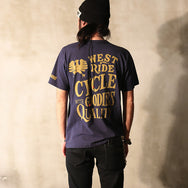 "May club -【WESTRIDE】""CYCLE GOODIES"" TEE - NAVY"
