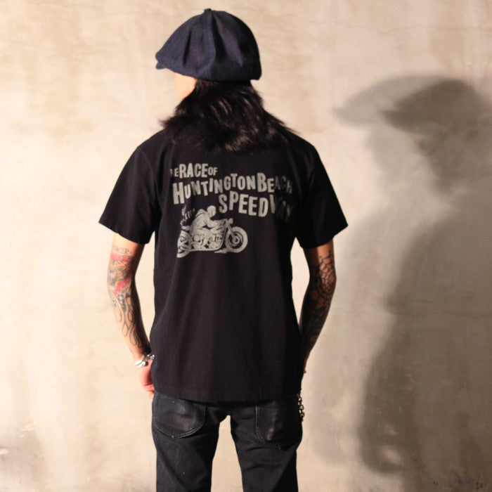 "May club -【WESTRIDE】""GO THRILL"" TEE - BLACK"