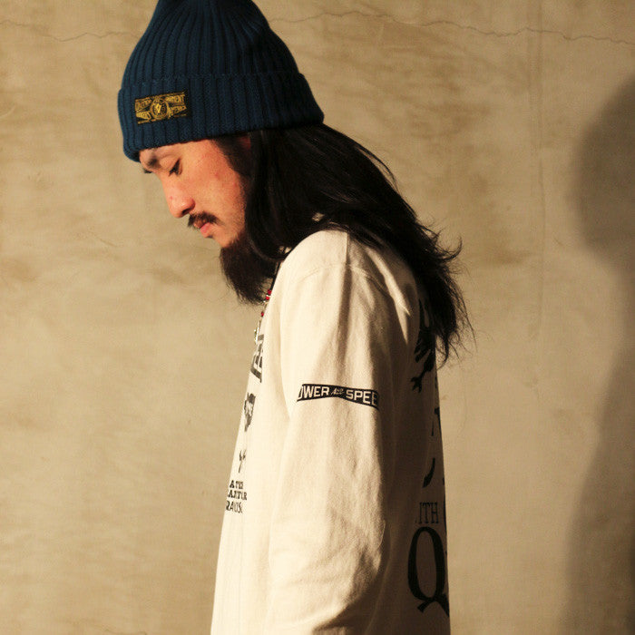 May club -【WESTRIDE】WATCH CAP - SMOKE BLUE(BLACK LABEL)