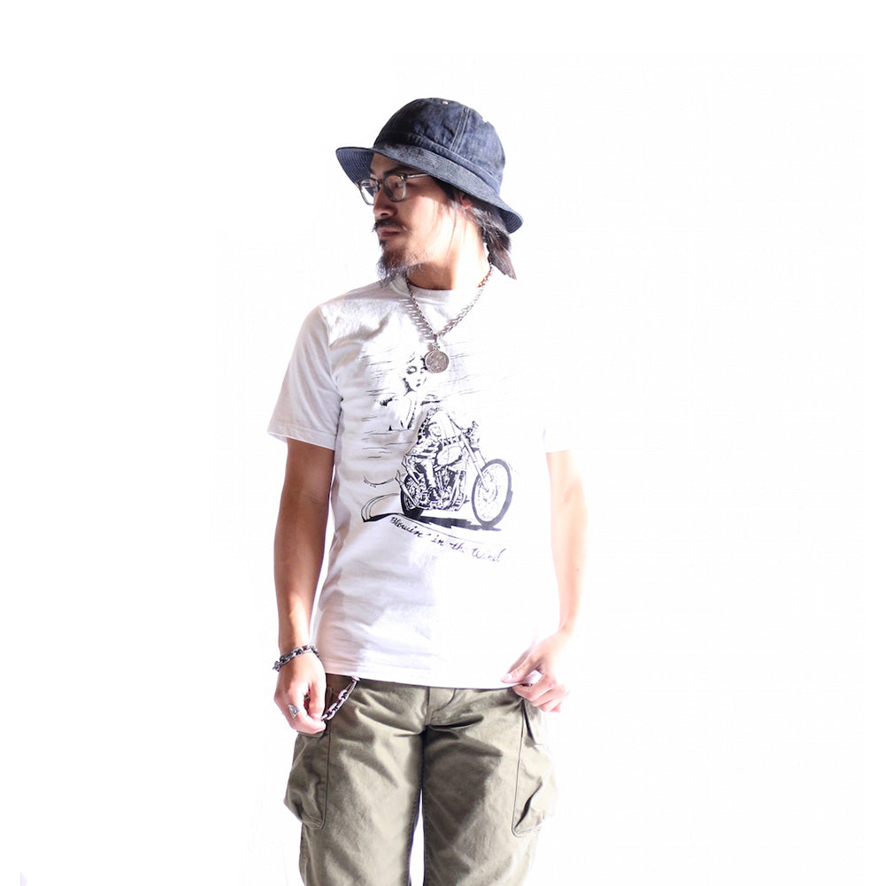 "May club -【WESTRIDE】""BLOWIN' IN THE WIND"" TEE - WHITE"