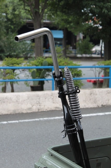 "May club -【Fork】Narrow rise bar ""British high WIDE"""