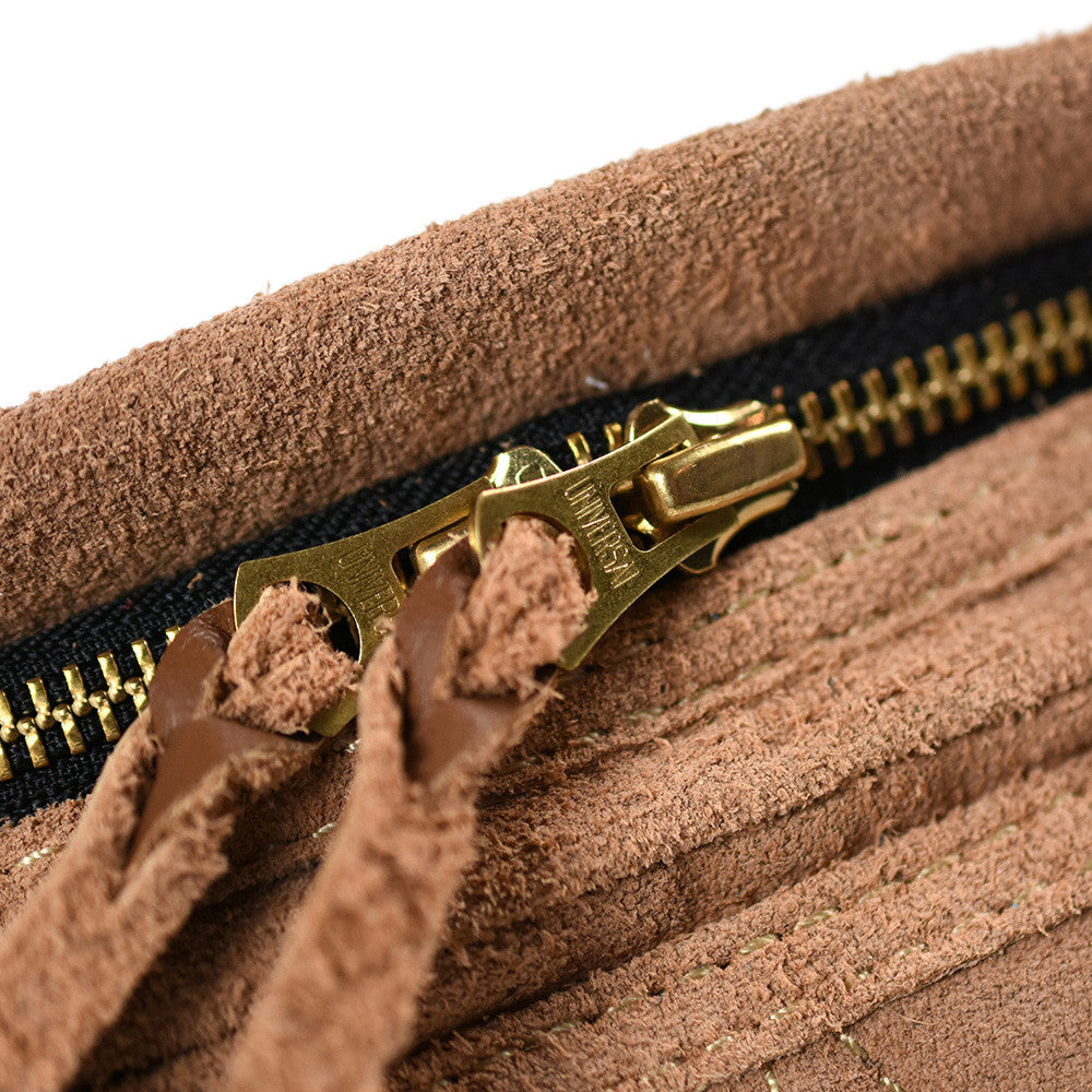 May club -【WESTRIDE】RIDING WAIST BAG LTD SUEDE - TAN