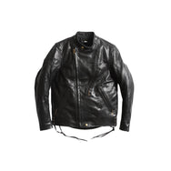 OAK CANYON LEATHER JACKET - BLACK