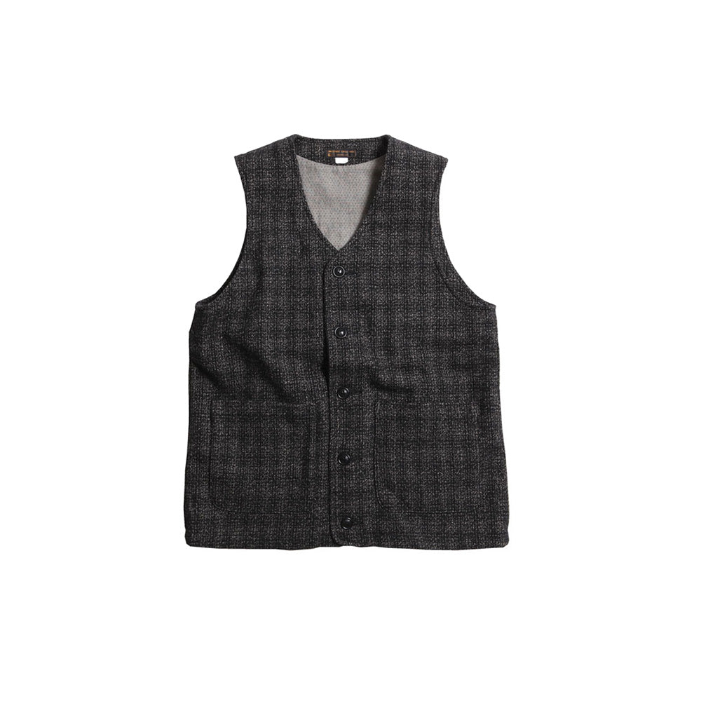May club -【WESTRIDE】HARVEST TWEED VEST
