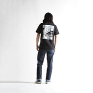 "May club -【WESTRIDE】""BLOWIN' LINE"" TEE - BLACK"