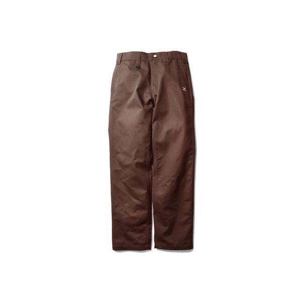 STANDARD WORKS PANTS - BROWN