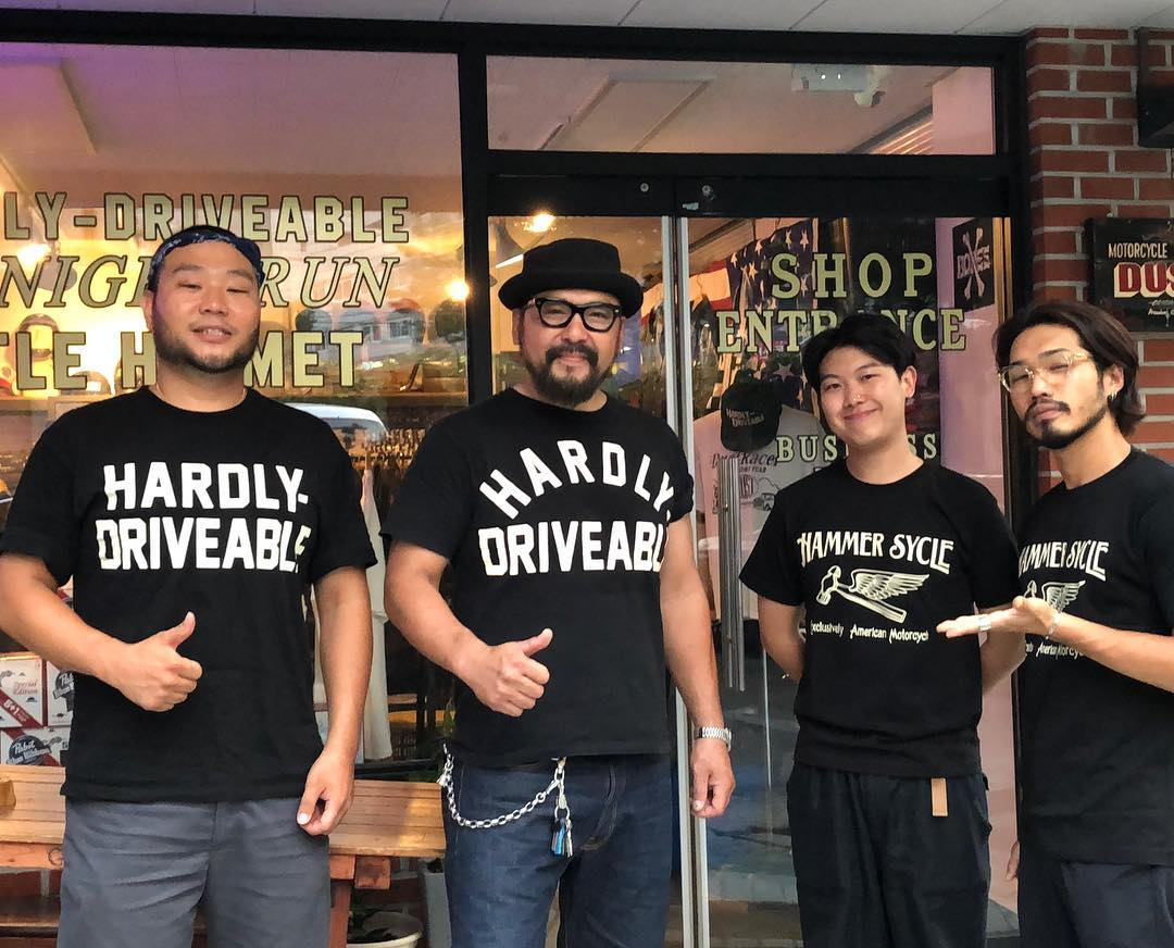 May club -【HARDLY-DRIVEABLE】HARDLY-DRIVEABLE Short Sleeve Shirts - BLACK (Straight)