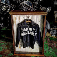 May club -【HARDLY-DRIVEABLE】MOTORCYCLE SWEATER(HEAVY COTTON)
