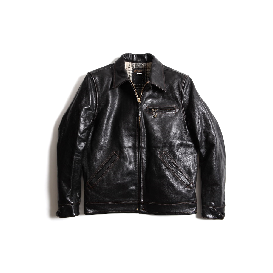 May club -【WESTRIDE】TOP NOTCH JACKET - BLACK