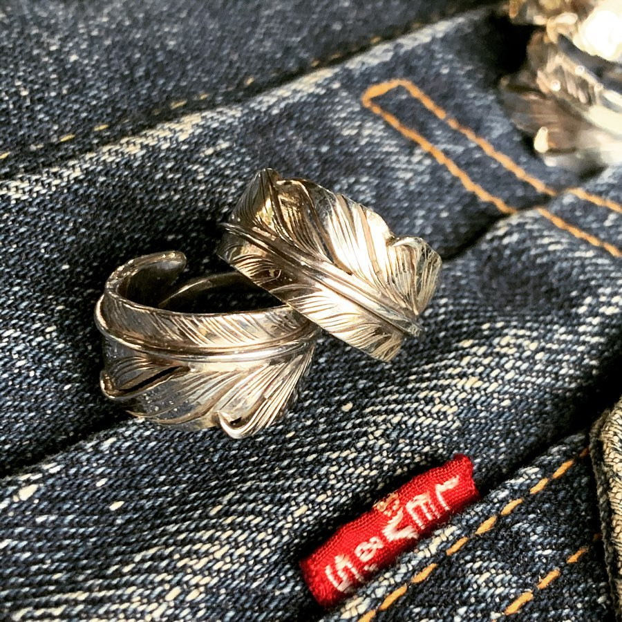 May club -【May club】KNIFE FEATHER RING