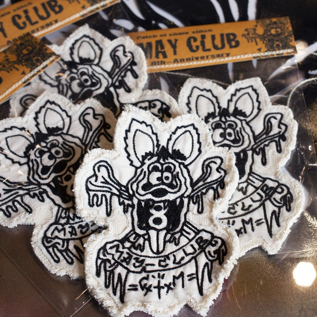 May club -【May club】8TH ANNIVERSARY PATCH