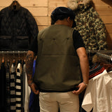 May club -【WESTRIDE】FORT MORGAN VEST - OLIVE