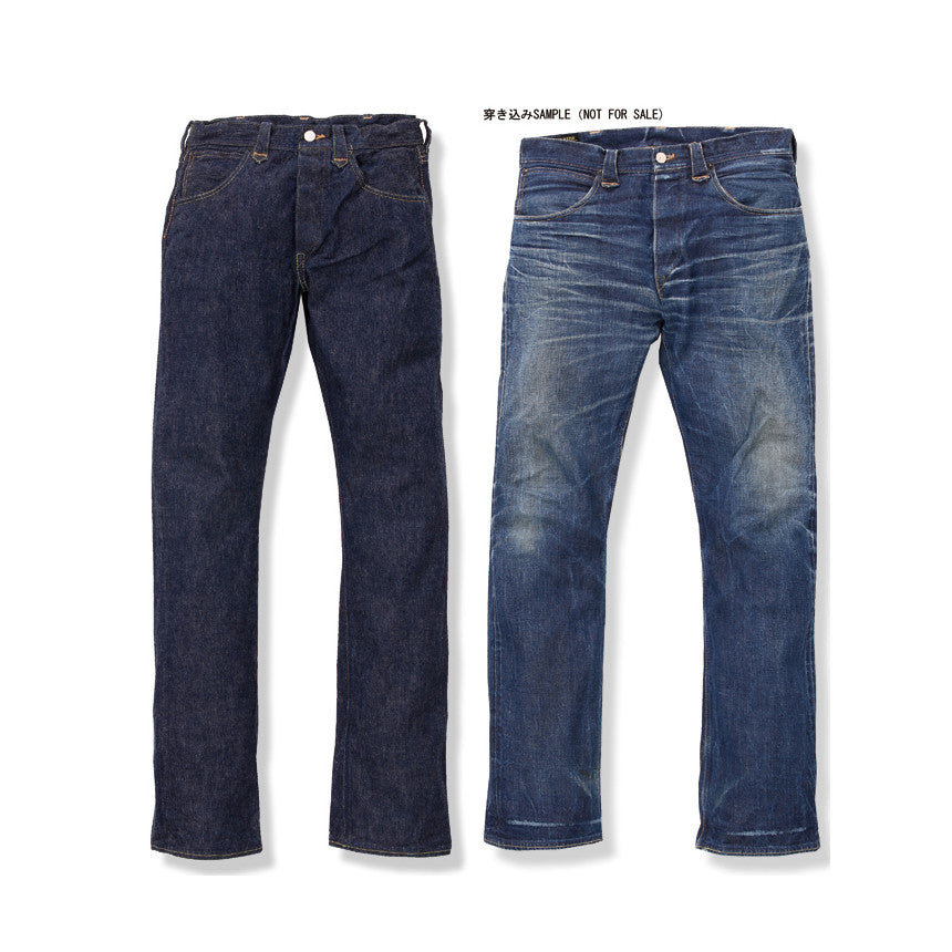 May club -【WESTRIDE】WR101 人氣定番 Straight Blue Denim 直筒牛仔褲