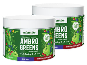 2 x AmbroGreens (60 Servings)